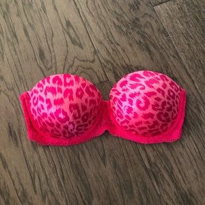 Victoria Secret Pink Strapless Bra